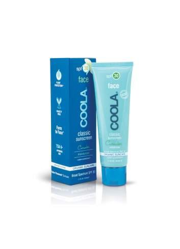 Crème de Protection Solaire Faciale Organique SPF 30 Concombre. Classic. Coola.