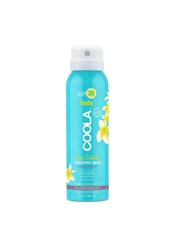 Crème de Protection Solaire Corporelle Organique SPF 30 en Spray Inodore. Sport Continuous. Coola.