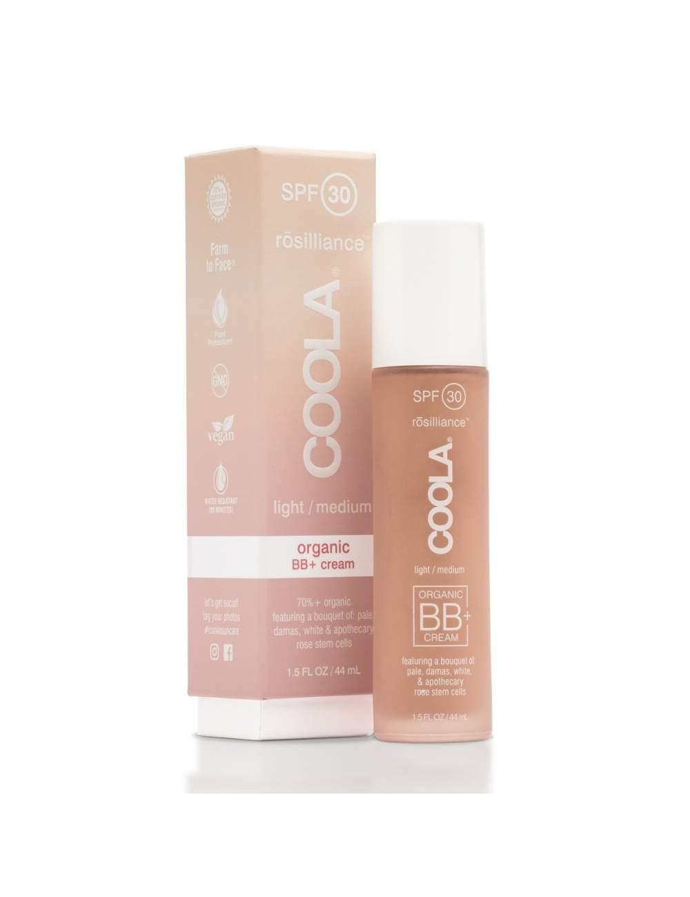 BB Cream Orgánica Tono Medio-Claro SPF30. Rosiliance. Coola