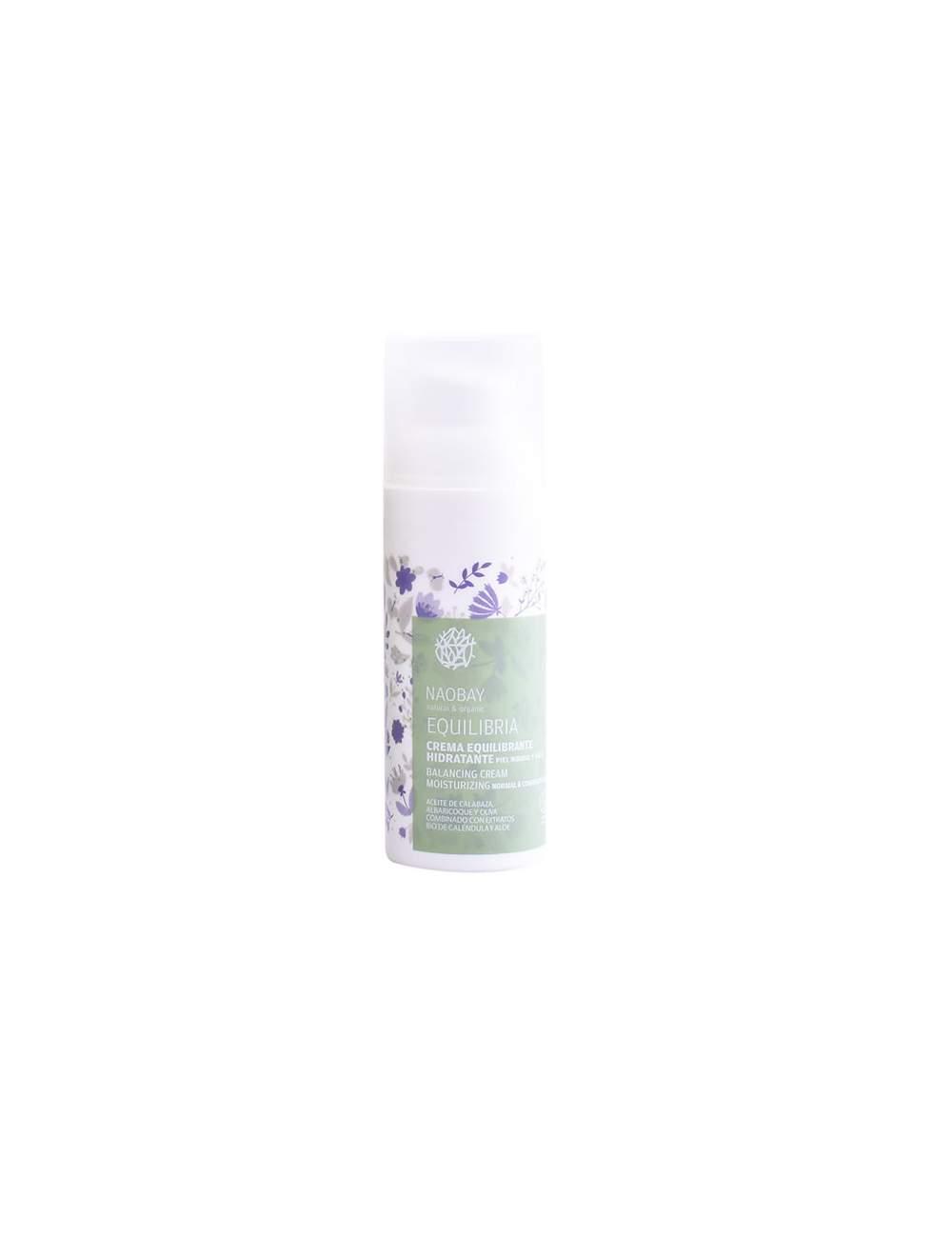 Crema Facial Ecológica Equilibria. Naobay