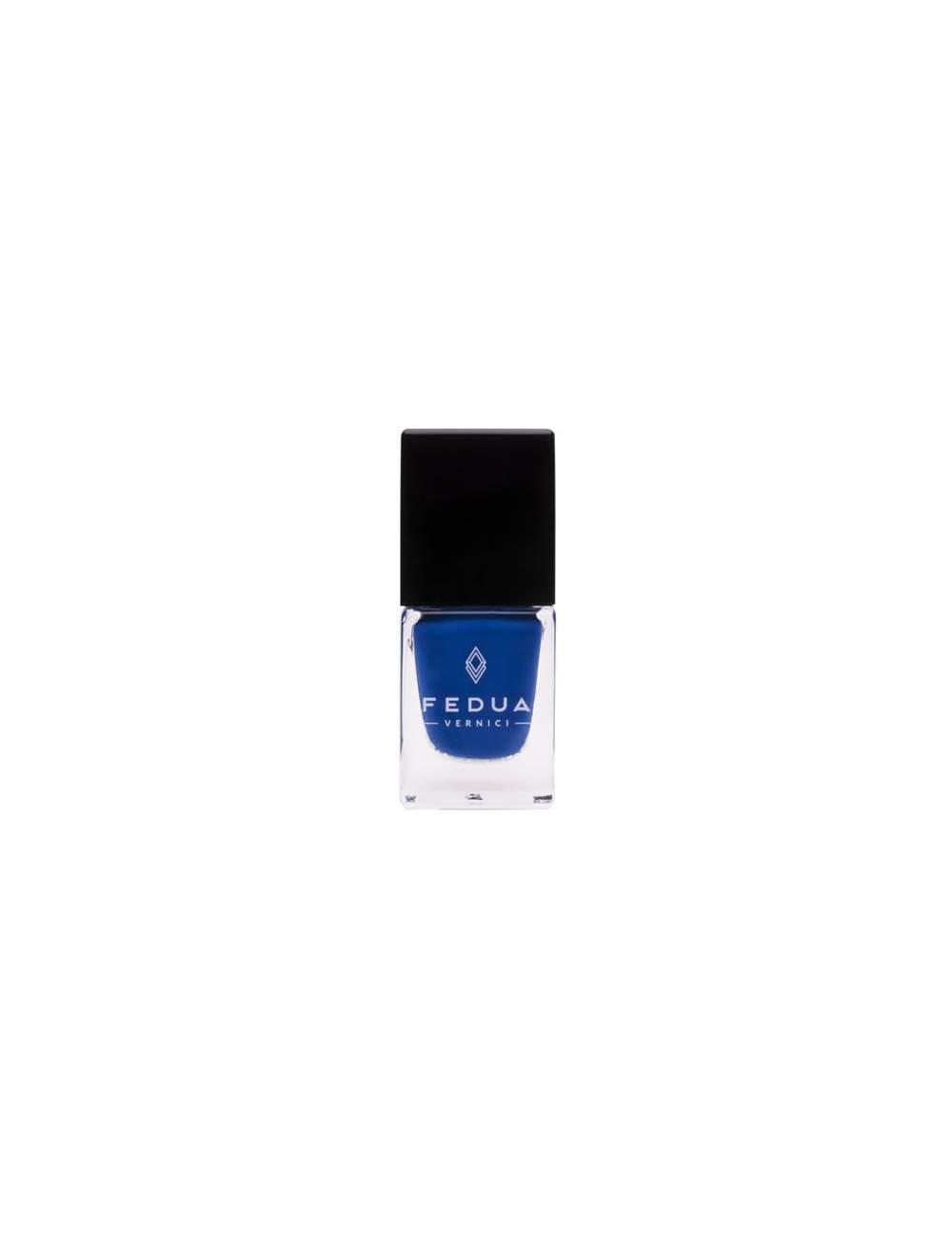 Esmalte de Uñas Efecto Gel Electric Blue. Fedua