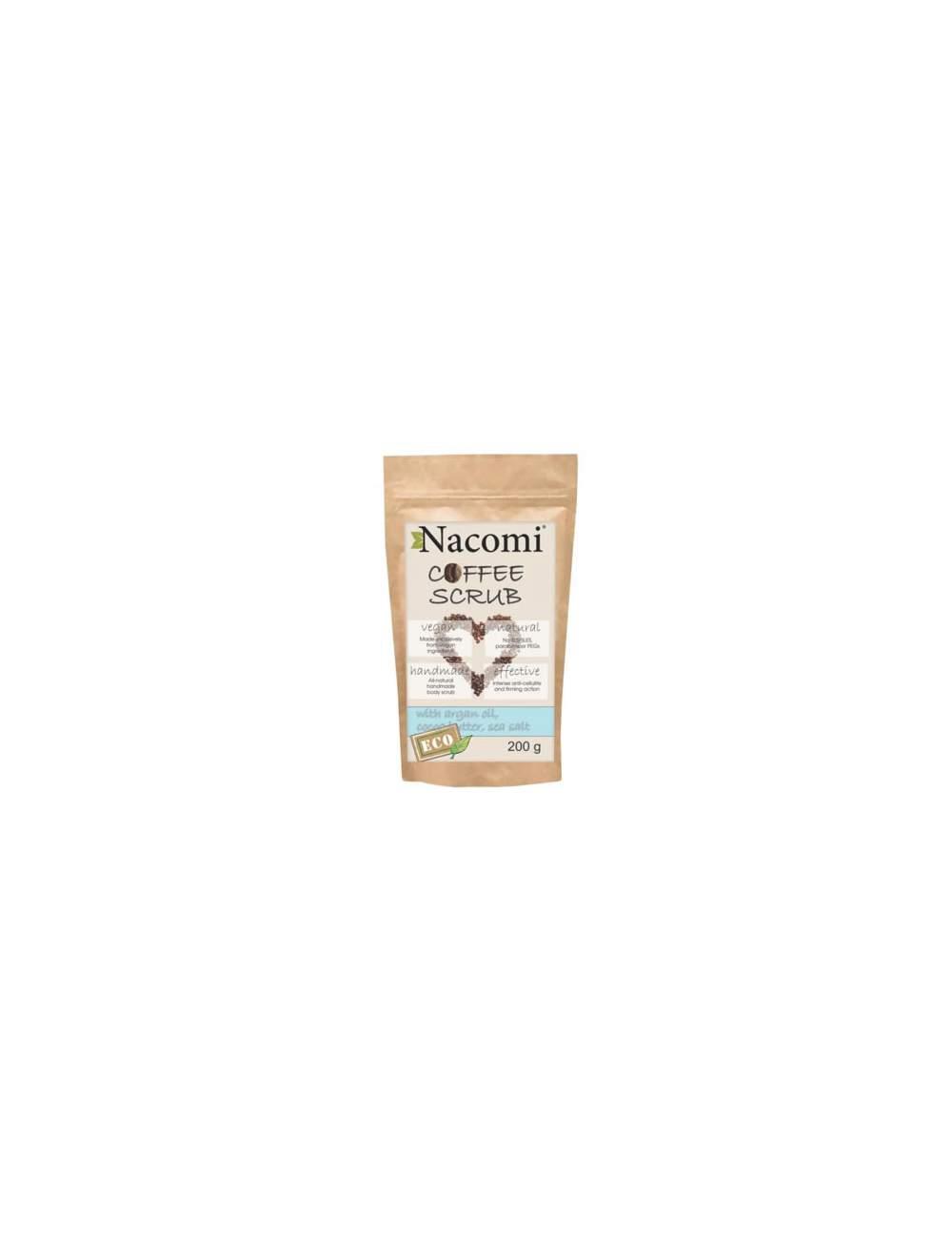 Exfoliante Corporal Natural de Café. Nacomi