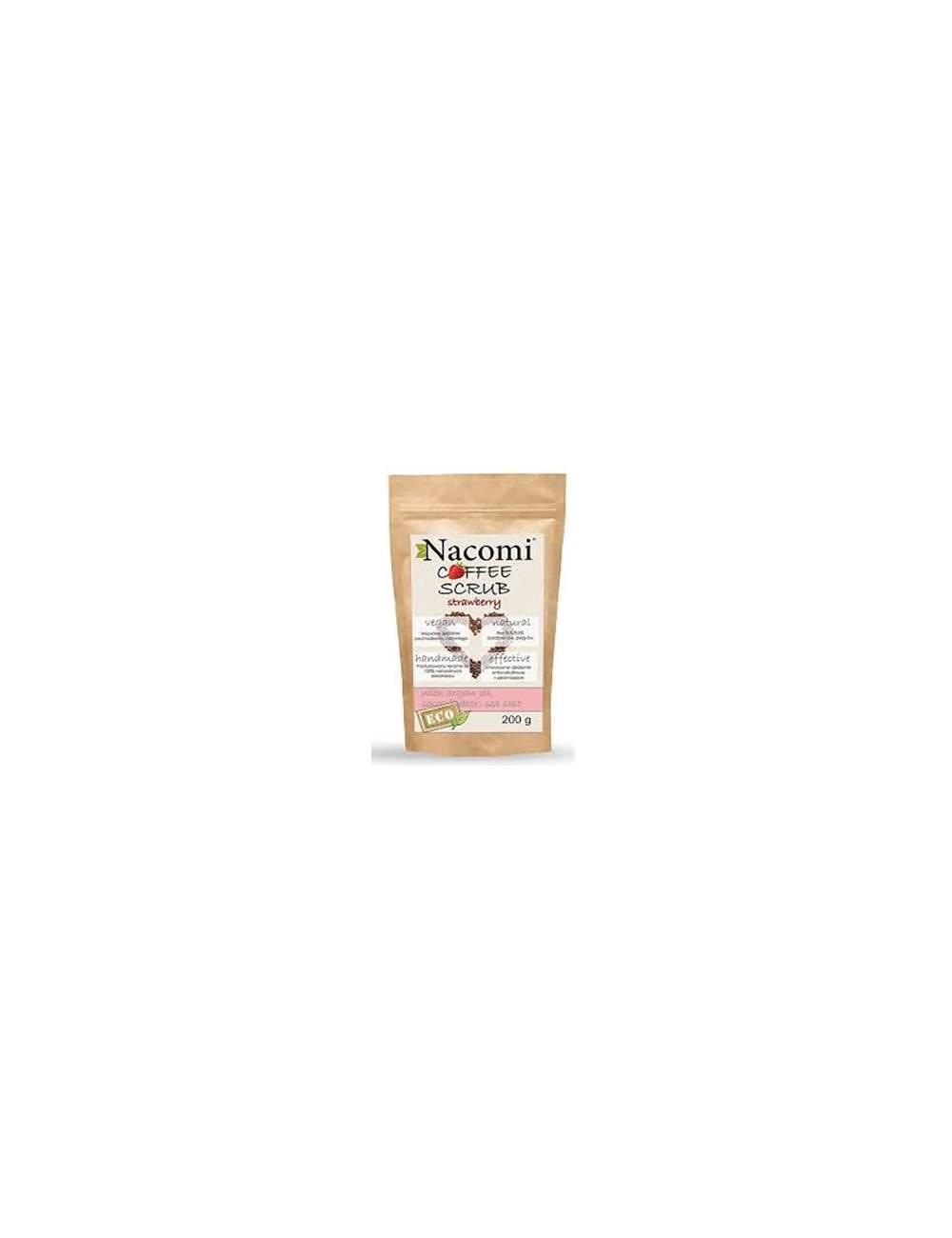 Exfoliante Corporal Natural de Café Strawberry. Nacomi