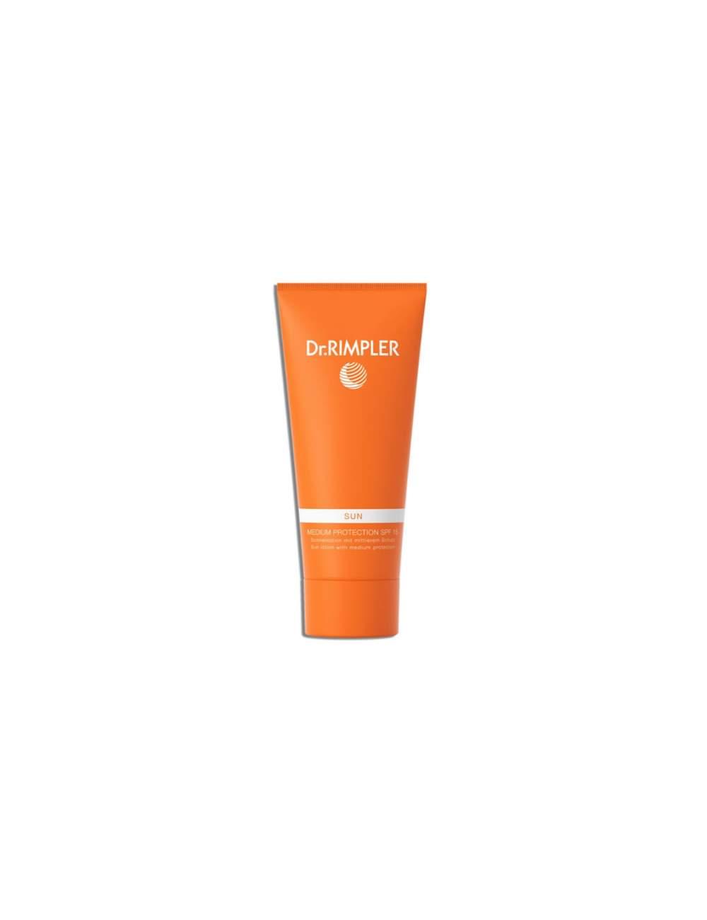 Crème de Protection Solaire Corporelle SPF 15 Sun Medium Protection. Dr. Rimpler.