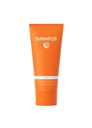 Crème de Protection Solaire Corporelle SPF 30 High Protection. Dr Rimpler.