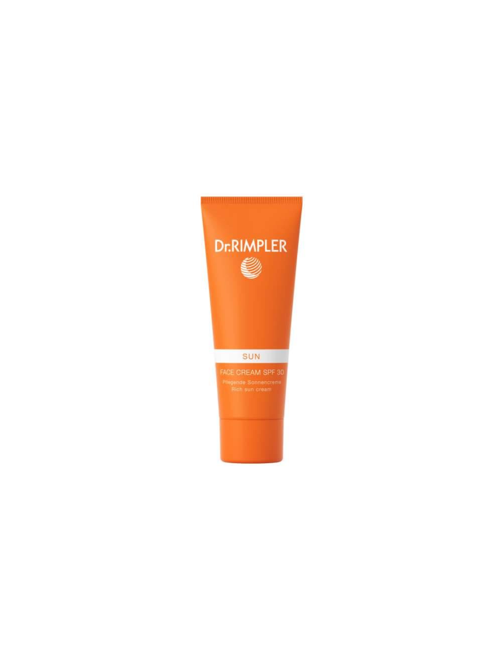 Crème de Protection Solaire Facial SPF 30 High Protection. Dr Rimpler.