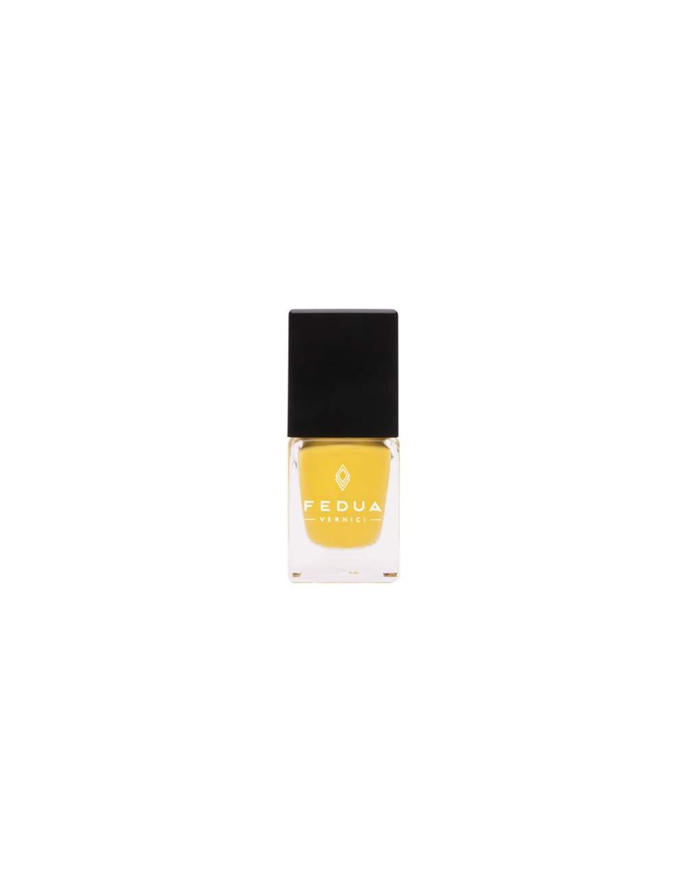 Esmalte de Uñas Efecto Gel Dandellion Yellow. Fedua