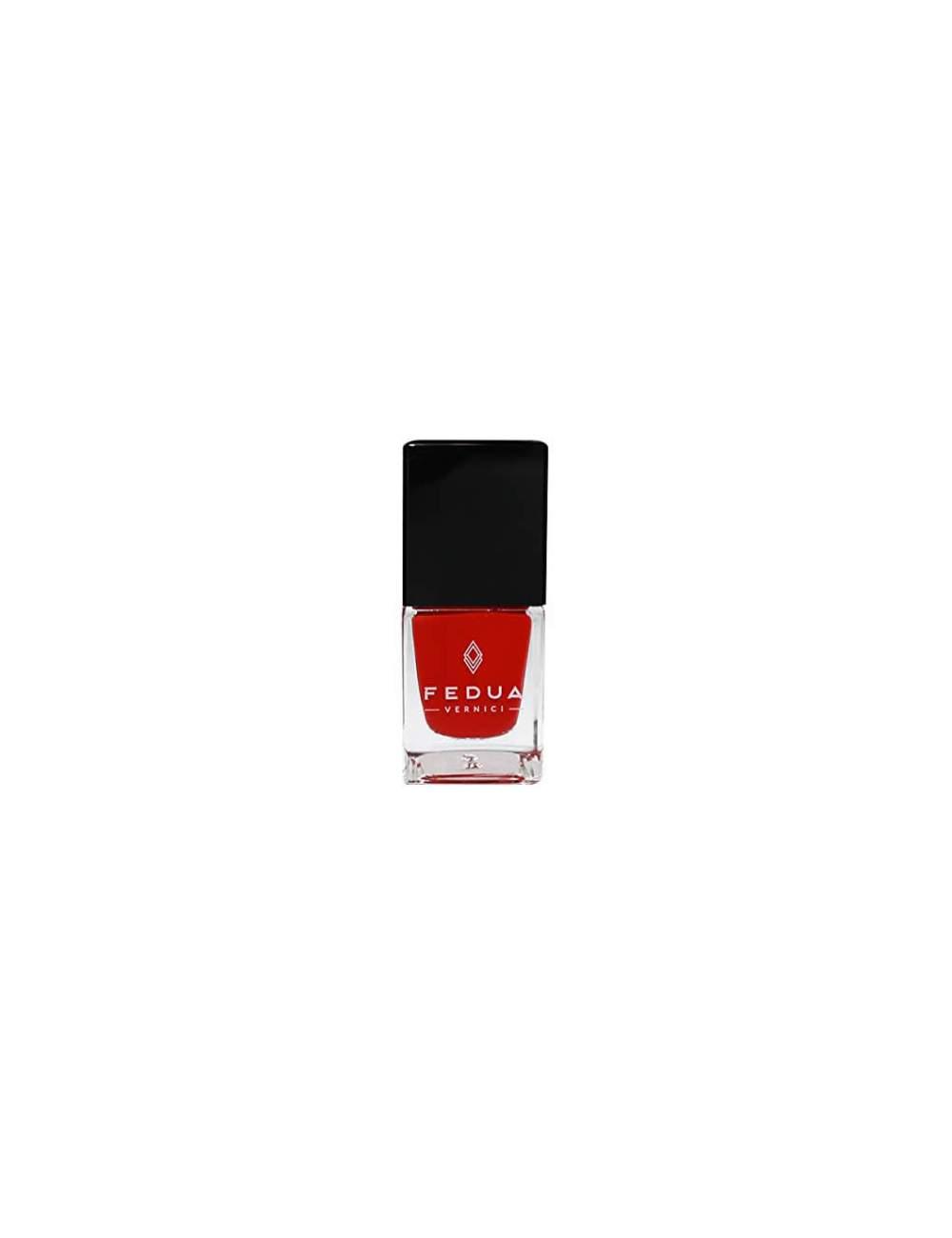 Esmalte de Uñas Efecto Gel Classic Red. Fedua