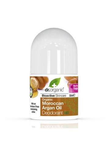 Déodorant Bio à l`Huile d`Argan Marocaine. Dr. Organic