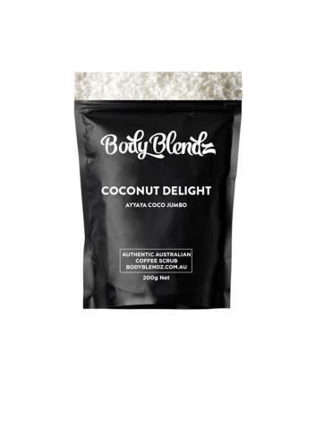 Exfoliante Corporal Natural de Coco Coconat Delight. Body Blendz.