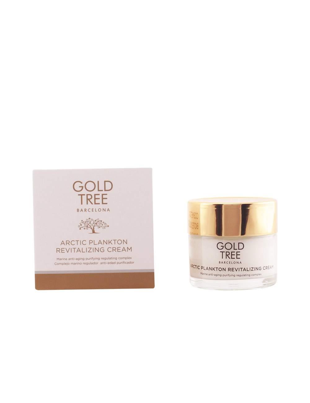 Crème Faciale Hydratante Naturelle avec du Plancton Marin. Gold Tree Barcelona.