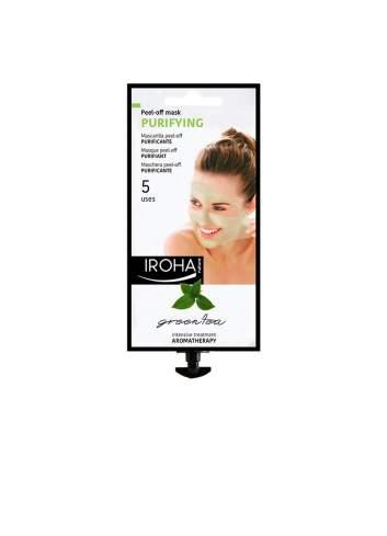 Masque Facial Purifiant Peel Off de Thé Vert. Iroha Nature.