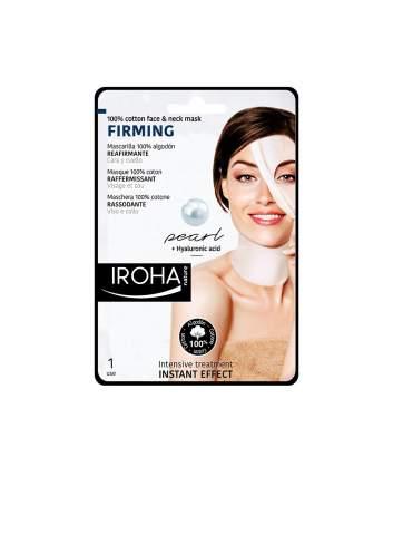 Masque Facial Naturel Raffermissant avec de la Perle Tissu. Iroha Nature.