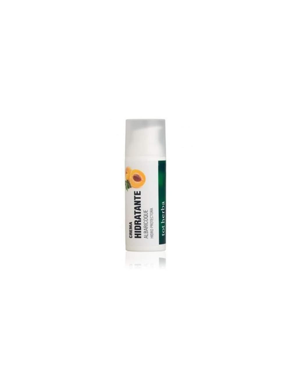 Crema Facial Hidratante Natural de Albaricoque. Tot Herbá.