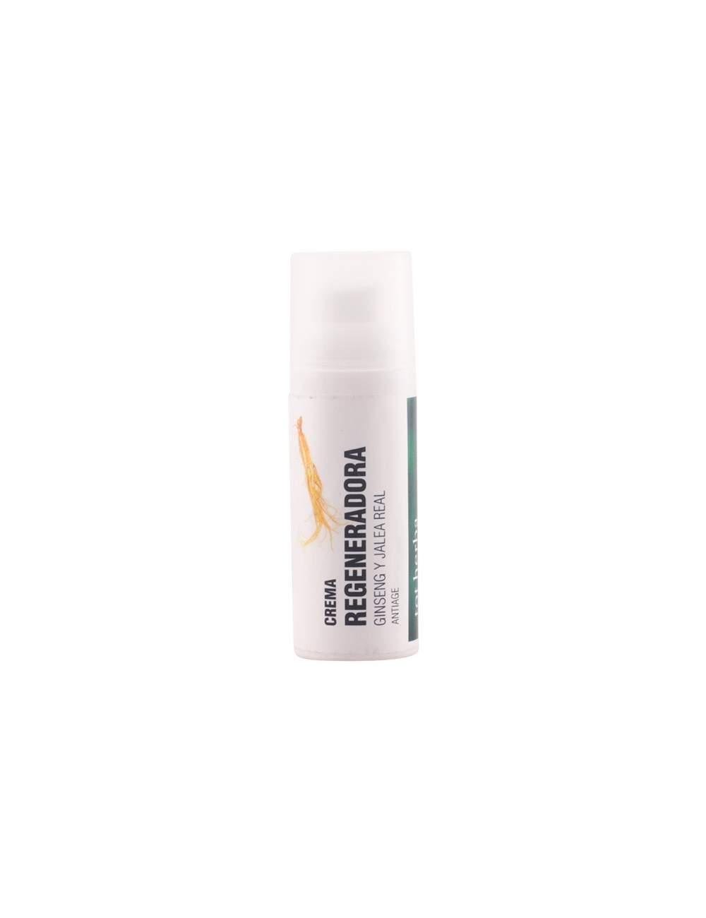 Crema Facial Regeneradora Natural de Ginseng y Jalea. Tot Herbá.