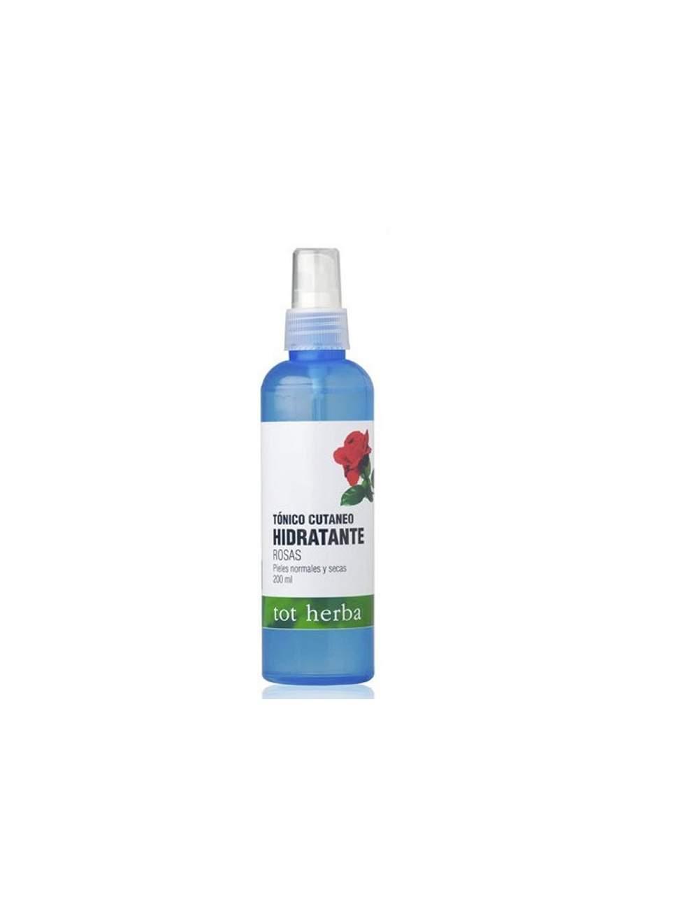 Tónico Facial Hidratante Natural de Agua de Rosas. Tot Herbá.