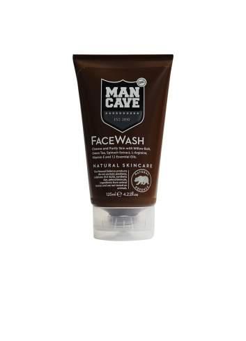 Gel Nettoyant Facial Naturel pour des Hommes. Man Cave.