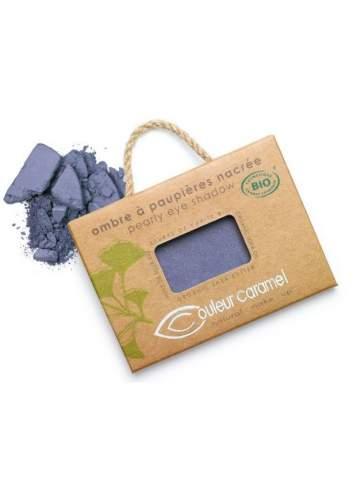 Ombre à Paupières Bio Nacré 46 Violet Blue. Couleur Caramel