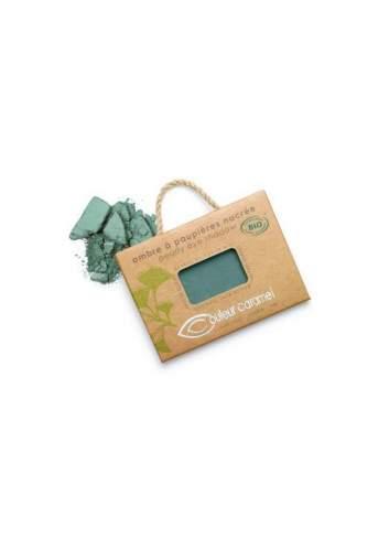 Ombre à Paupières Bio Nacré 50 Bluish Green. Couleur Caramel