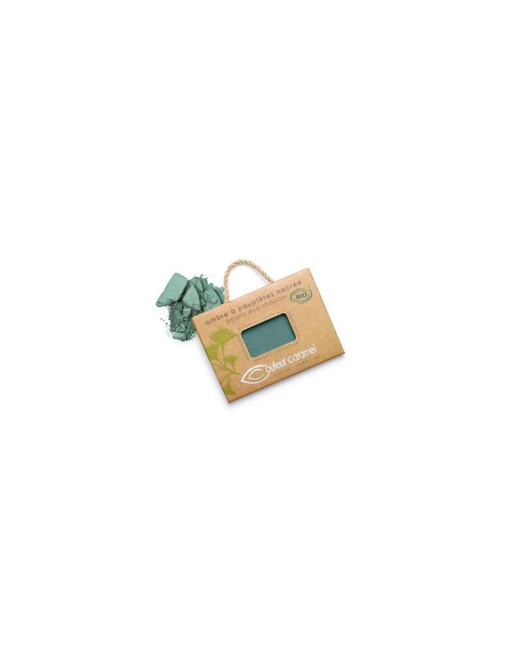 Sombra de Ojos Bio Nacarada 50 Bluish Green. Couleur Caramel