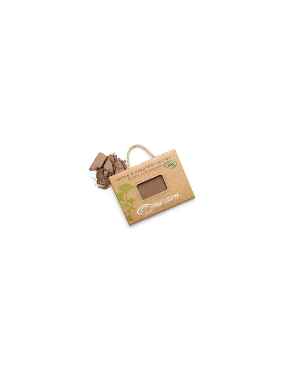Sombra de Ojos Bio Nacarada 67 Chocolat Cuivre. Couleur Caramel