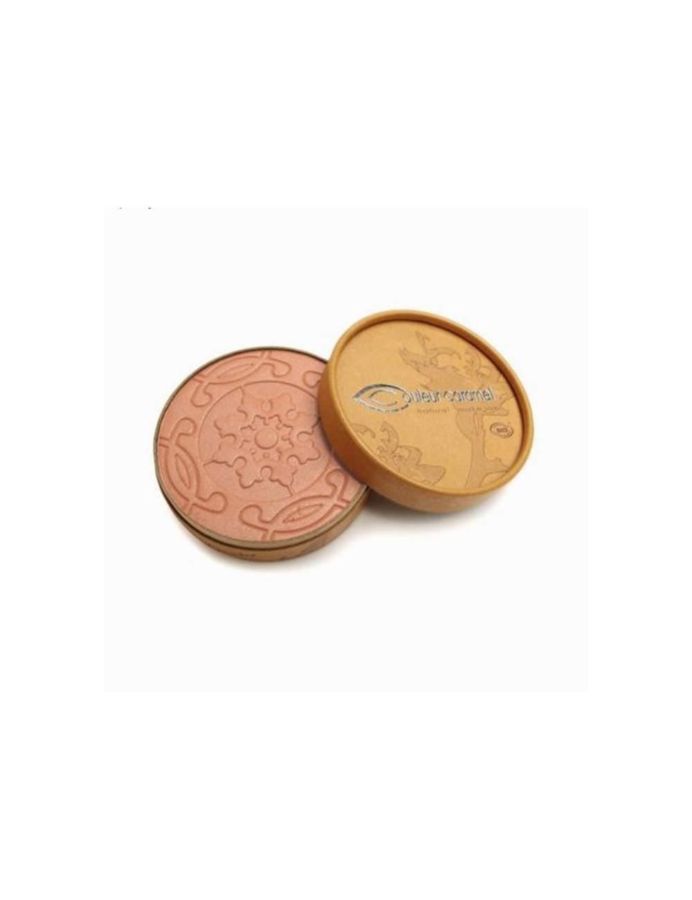 Poudres Bronzantes Bio Nacrés Terre Caramel 21 Rosy Brown. Couleur Caramel