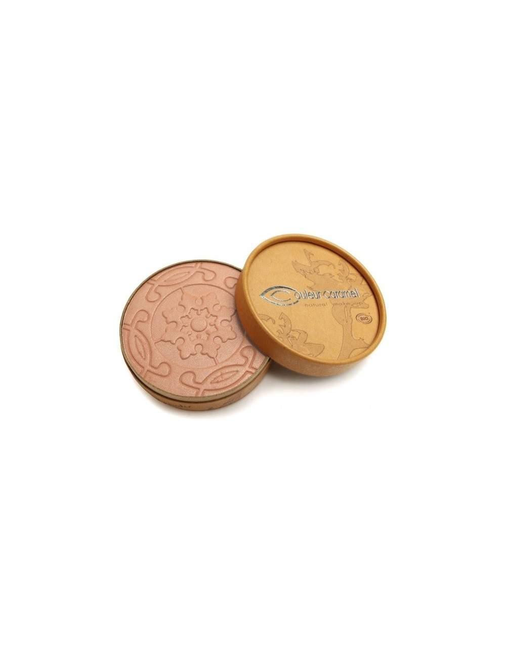 Poudres Bronzantes Bio Nacrés Terre Caramel 23 Beige Brown. Couleur Caramel