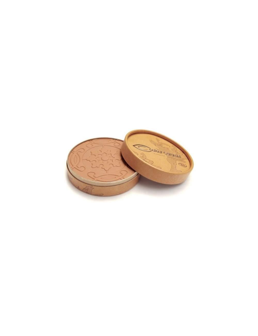 Polvos Bronceadores Bio Mate Terre Caramel 25 Golden Brown. Couleur Caramel