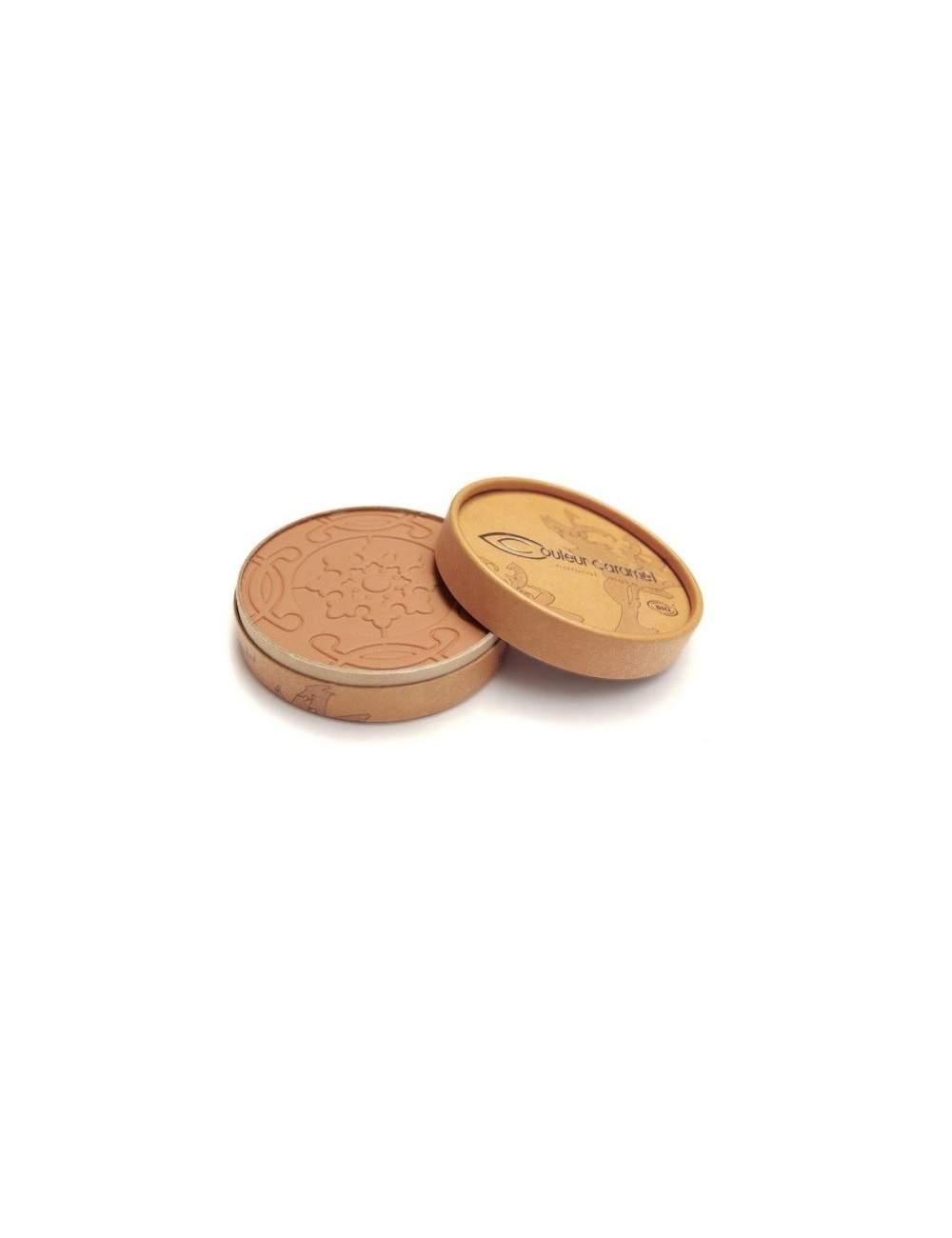 Polvos Bronceadores Bio Mate Terre Caramel 26 Beige Brown. Couleur Caramel