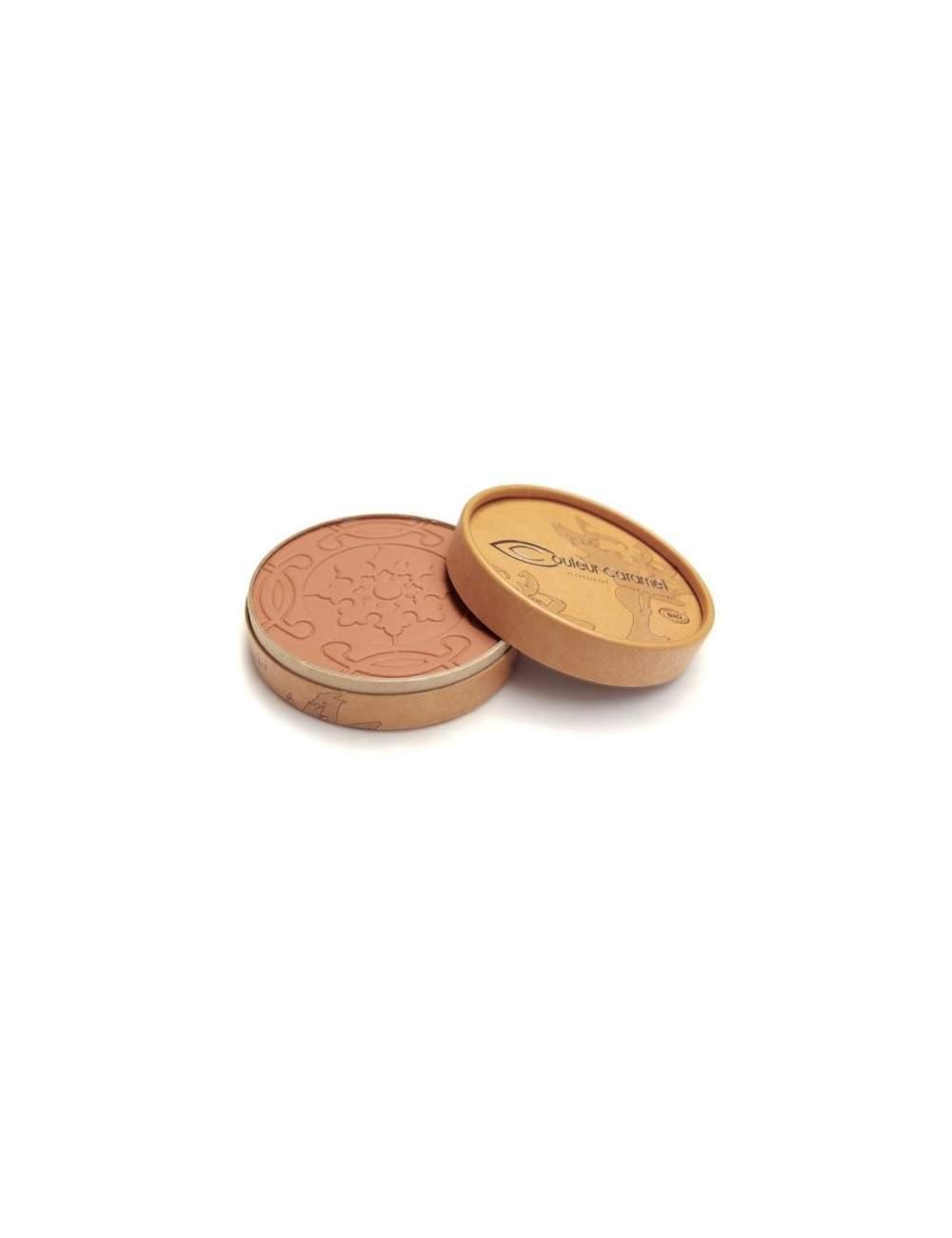 Polvos Bronceadores Bio Mate Terre Caramel 27 Orange Brown. Couleur Caramel