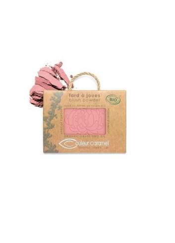 Blush Bio en Poudre 52 Rosy Beige. Couleur Caramel