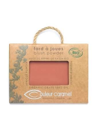 Blush Bio en Poudre Old Rose. Couleur Caramel.
