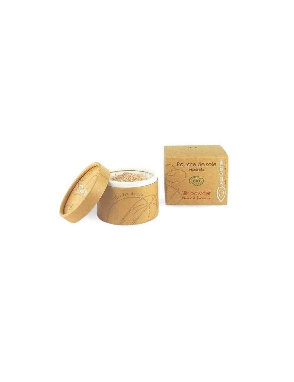 Polvos de Seda Bio. Couleur Caramel