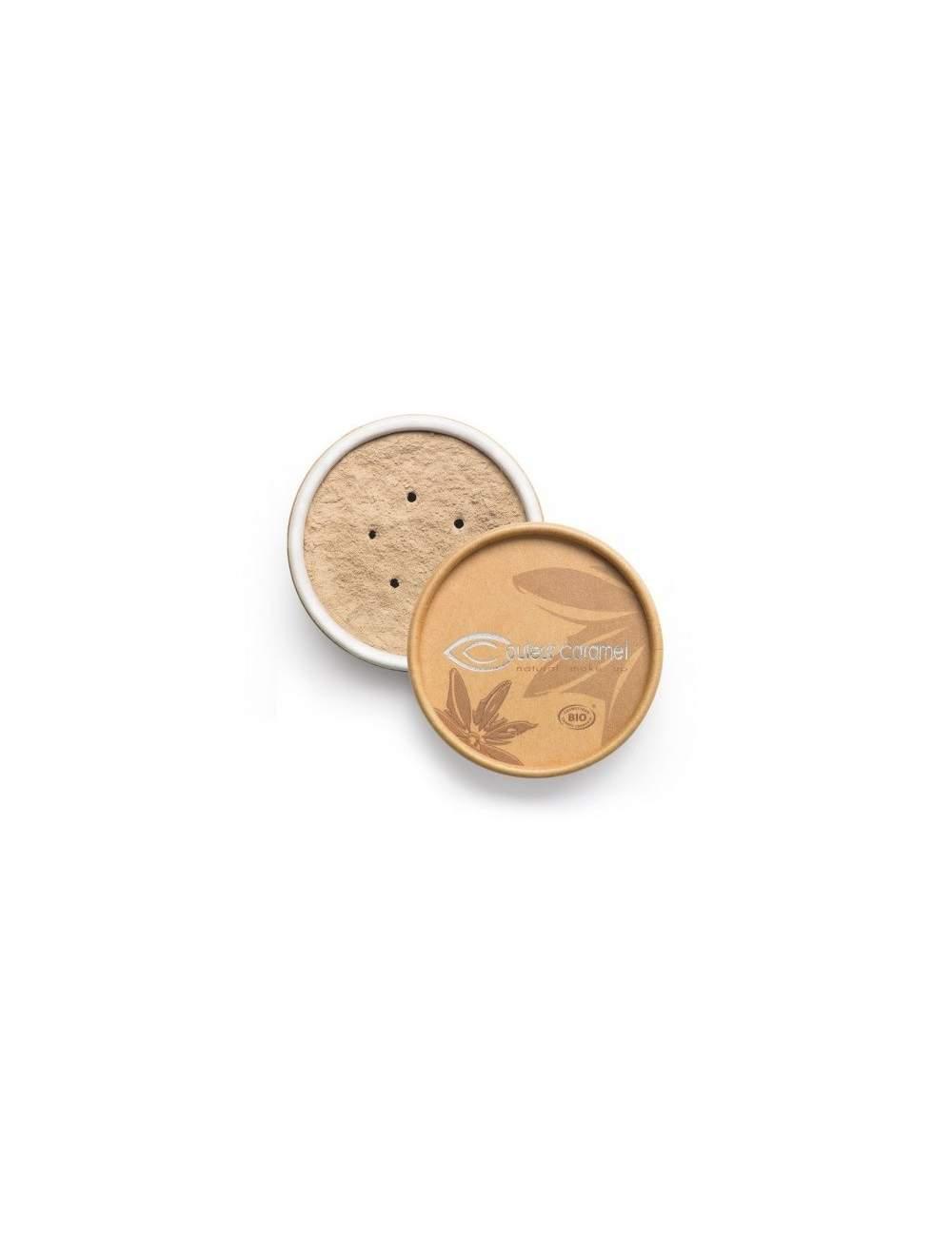 Fond de Teint Bio Minéral 01 Light Beige. Couleur Caramel