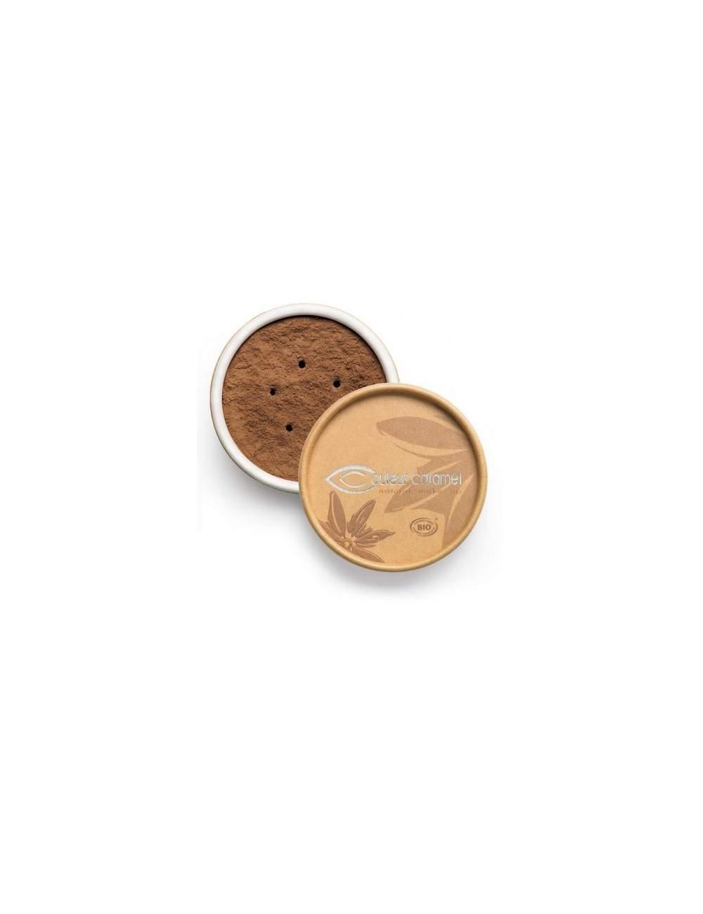 Fond de Teint Bio Minéral 12 Cafe. Couleur Caramel