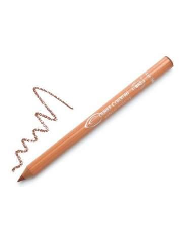 Crayon pour des Yeux et Lèvres Bio 110 Chocolate Brown. Couleur Caramel