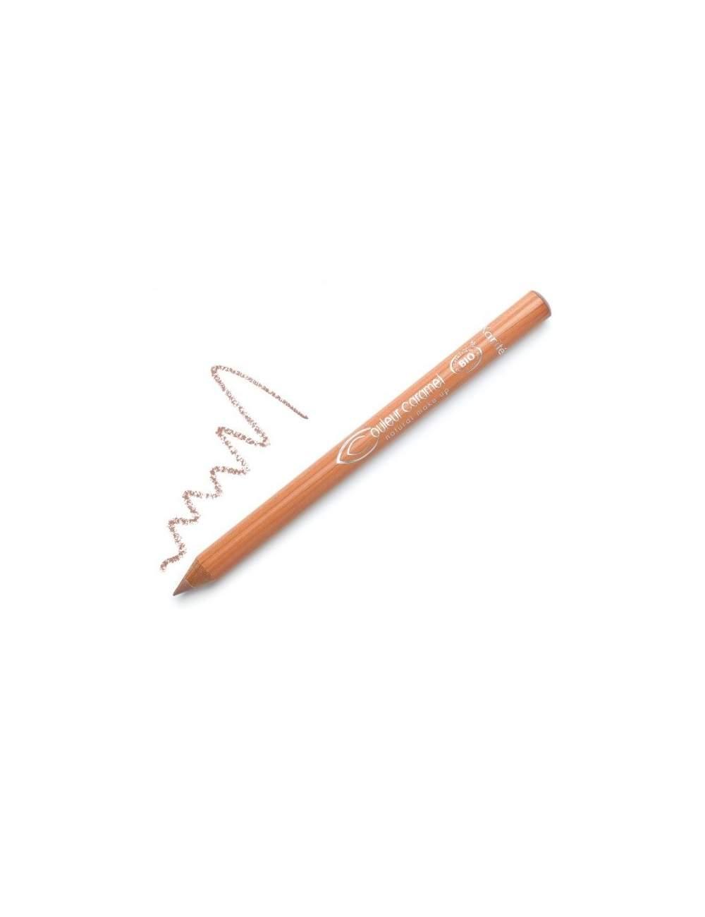Crayon pour des Yeux et Lèvres Bio 111 Beige. Couleur Caramel