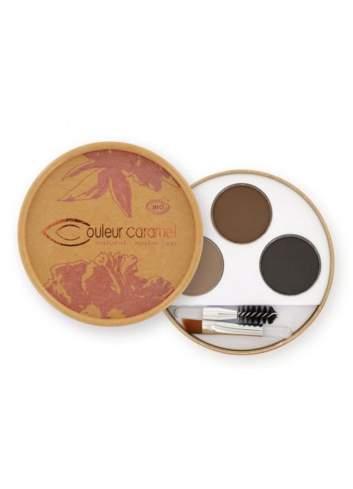 Kit de Maquillaje de Cejas Bio 29 Brunette. Couleur Caramel