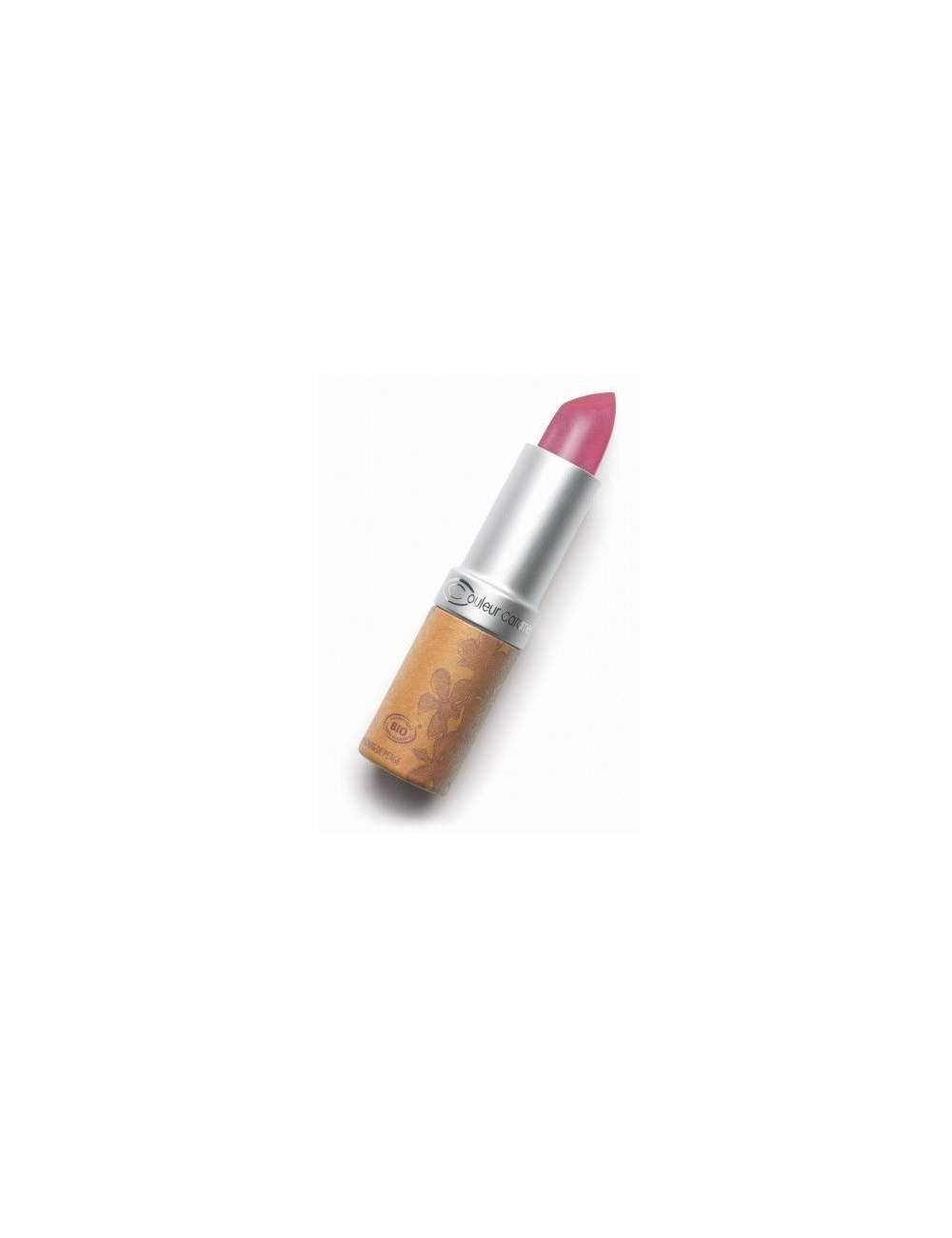 Rouge à Lèvres Bio Nacrée 203 Dark Pink. Couleur Caramel