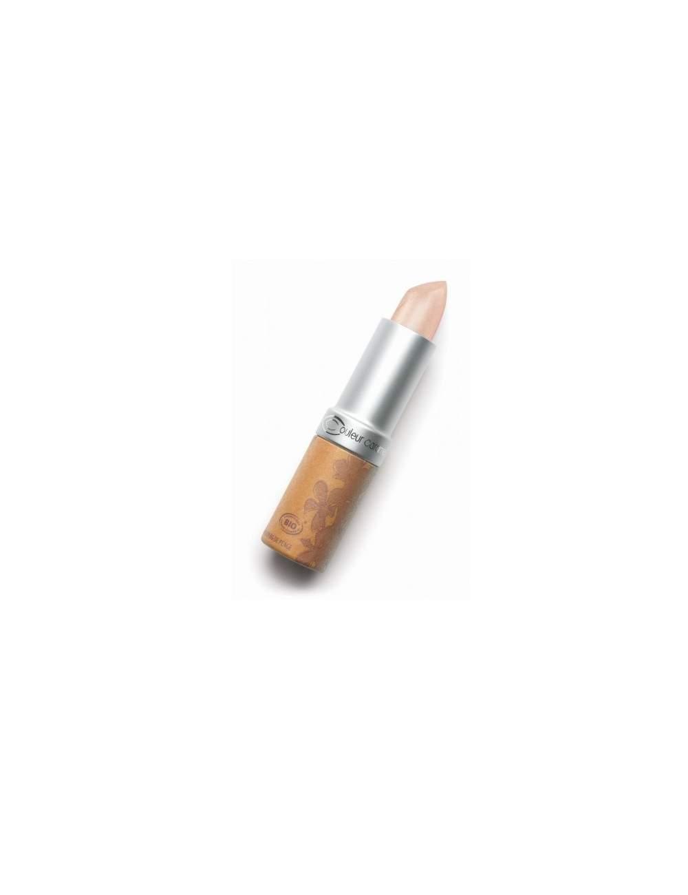 Rouge à Lèvres Bio Nacrée 205 Light Pink. Couleur Caramel