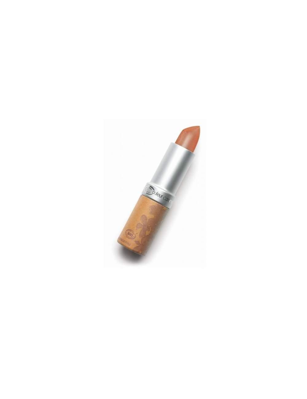 Rouge à Lèvres Bio Nacrée 210 Rosy Brown. Couleur Caramel