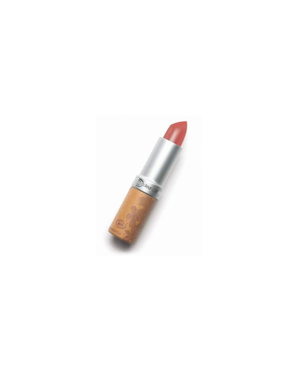 Rouge à Lèvres Bio Nacrée 224 Rust Brown. Couleur Caramel