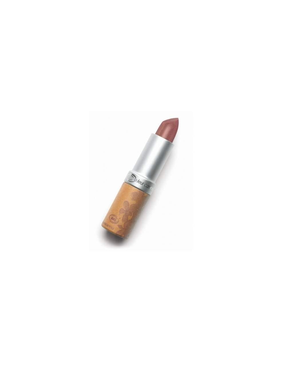 Rouge à Lèvres Bio Nacrée 243 Hibiscus. Couleur Caramel