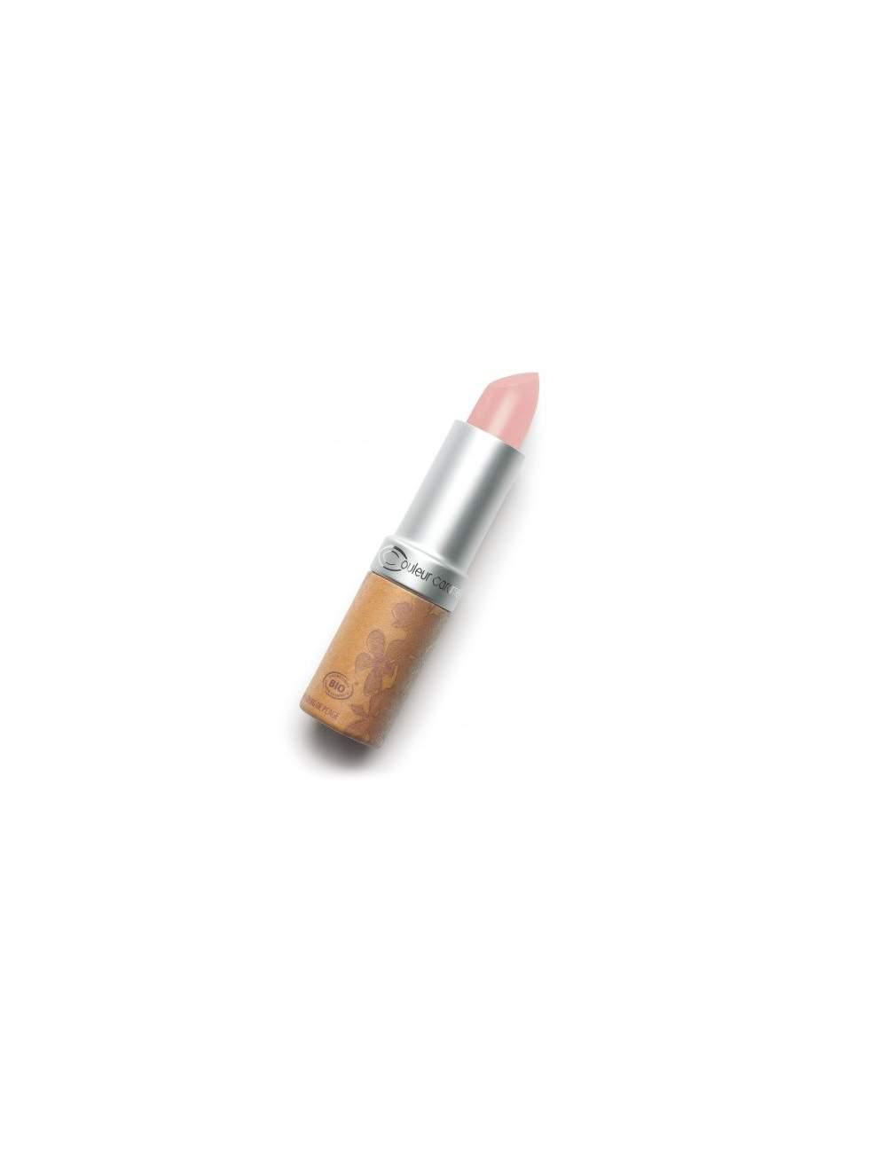 Rouge à Lèvres Bio Nacrée 255 Sun Drenched Pink. Couleur Caramel