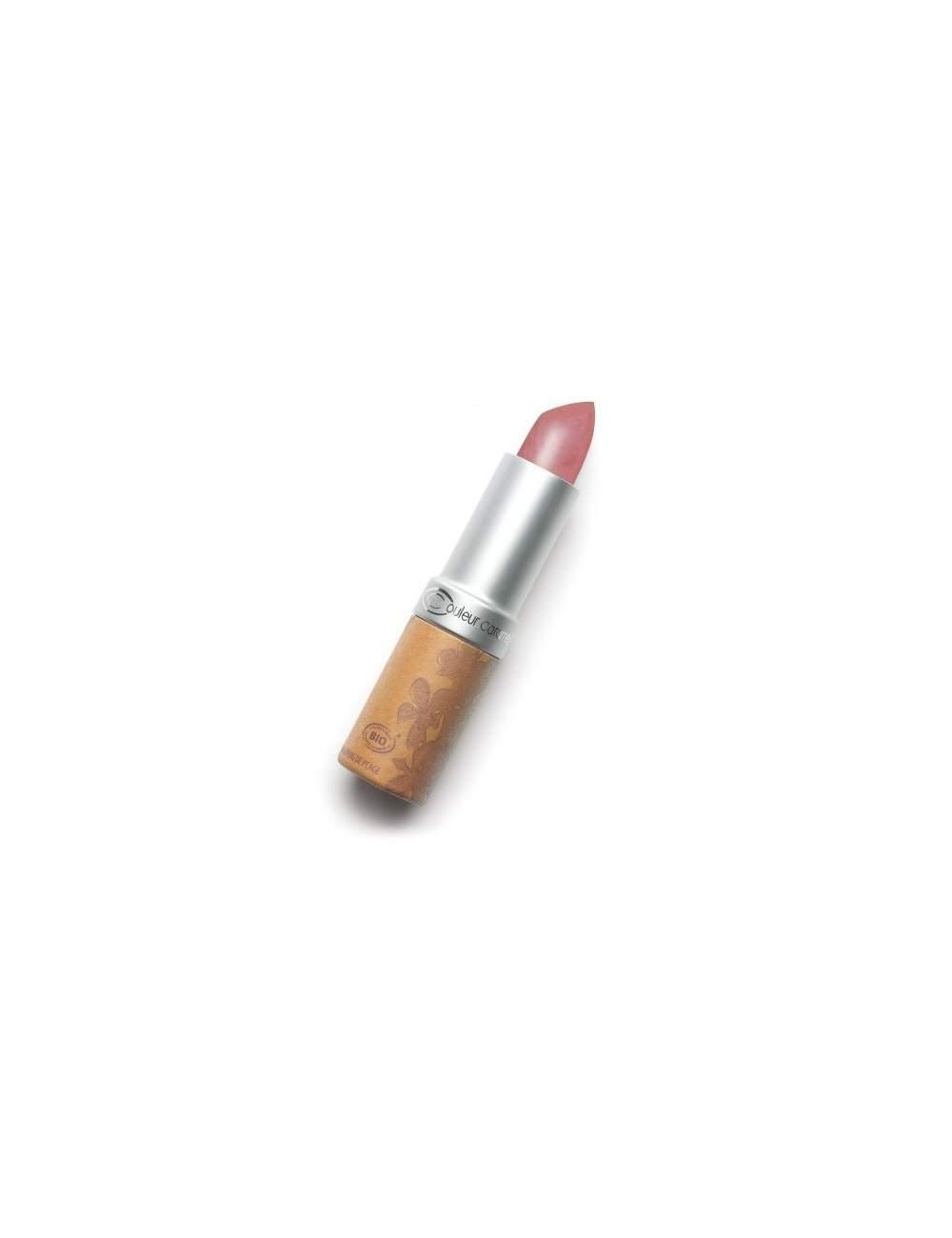 Rouge à Lèvres Bio Nacrée 256 Incandescent Beige. Couleur Caramel