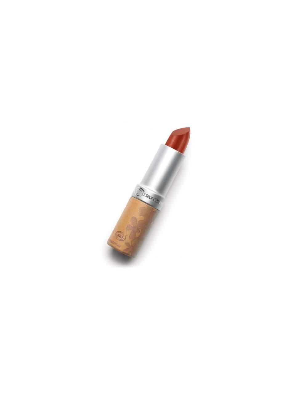 Rouge à Lèvres Bio Nacrée 259 Light Beige. Couleur Caramel