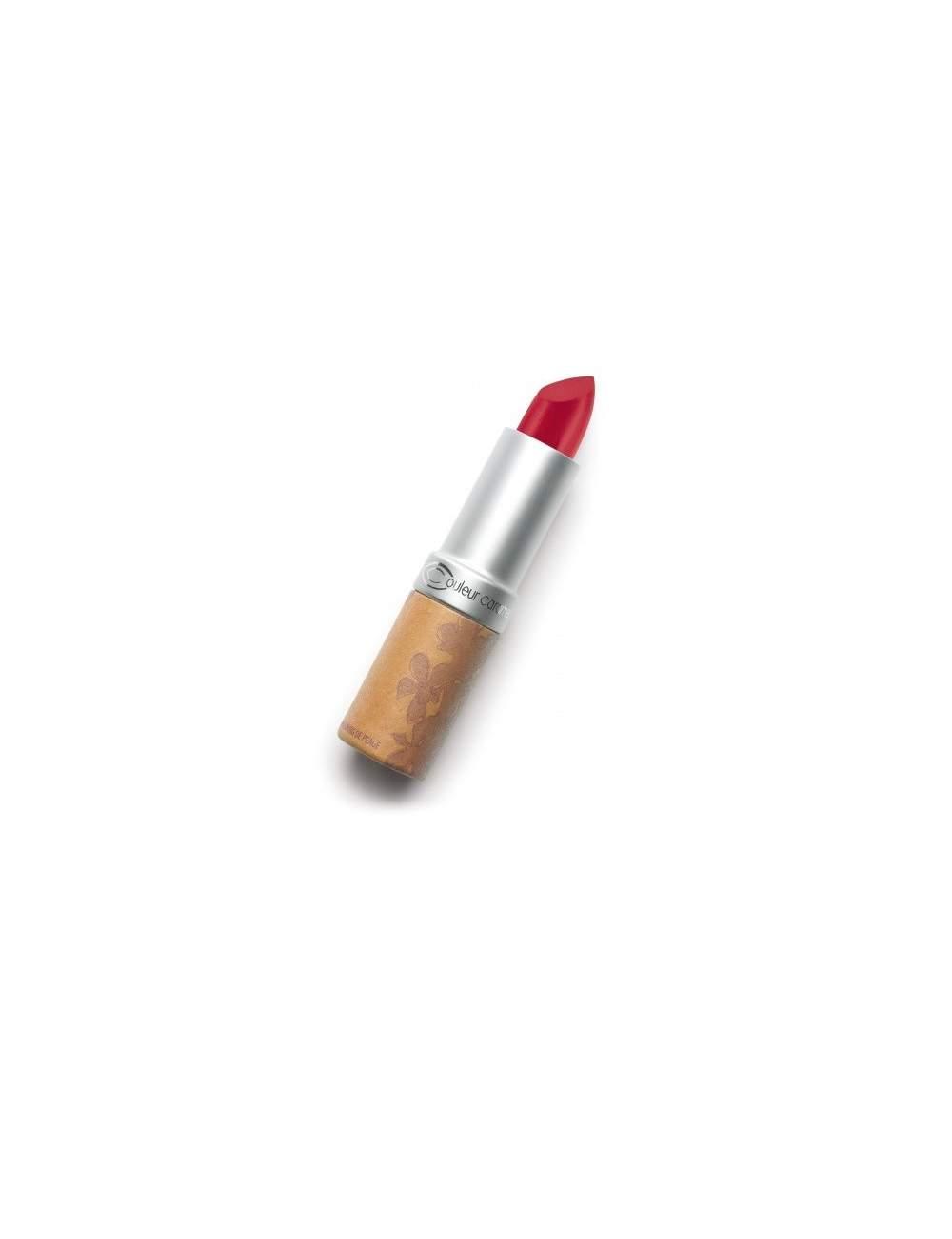 Rouge à Lèvres Bio Brillant 261 Gourmand Pink. Couleur Caramel