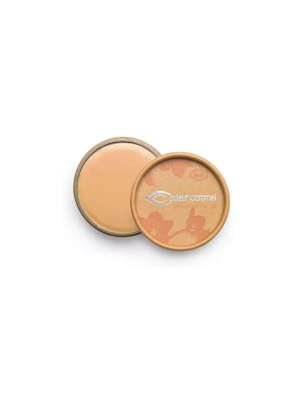 Correcteur de Cernes Bio en Crème 09 Golden Beige. Couleur Caramel