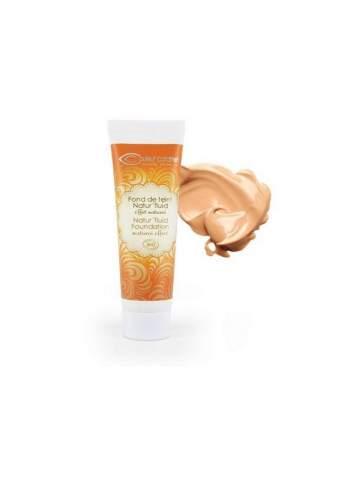 Base de Maquillaje Fluida Bio Natur Fluid 03 Apricot Beige. Couleur Caramel