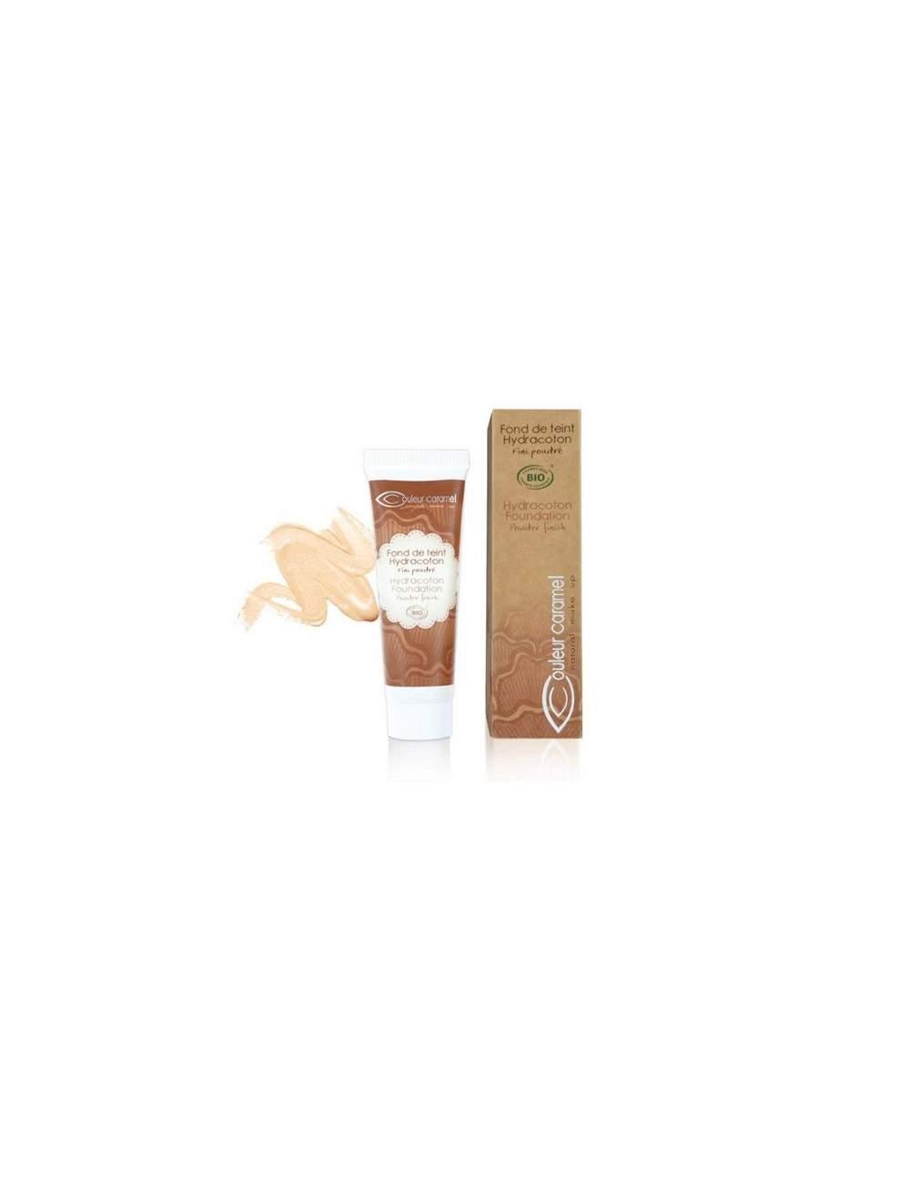Base de Maquillaje Fluida Bio Hydracoton 11 Marfil. Couleur Caramel